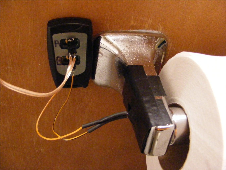 Mount Toilet Roll Sensor (photo Cell)