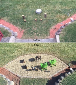 Fire Pit Patio Project