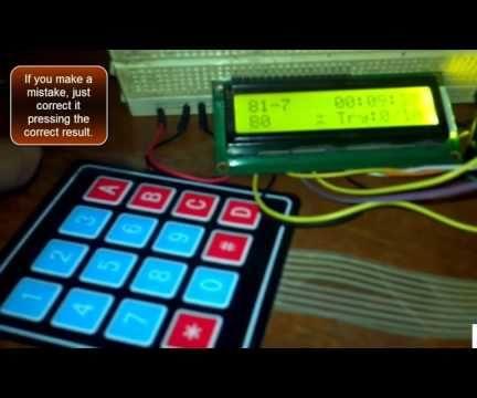 Speed Math Game With Arduino