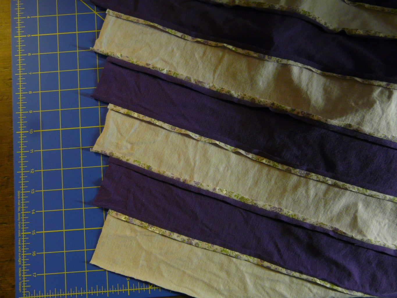 Sew the Strips Together