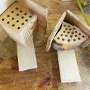 Make your own little Bee Houses