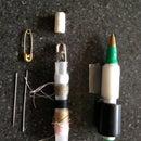 1 Bic Pen = mini pen + sewing kit + tape holder