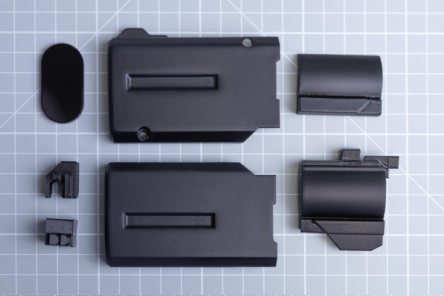 3D Printing + Laser Cutting