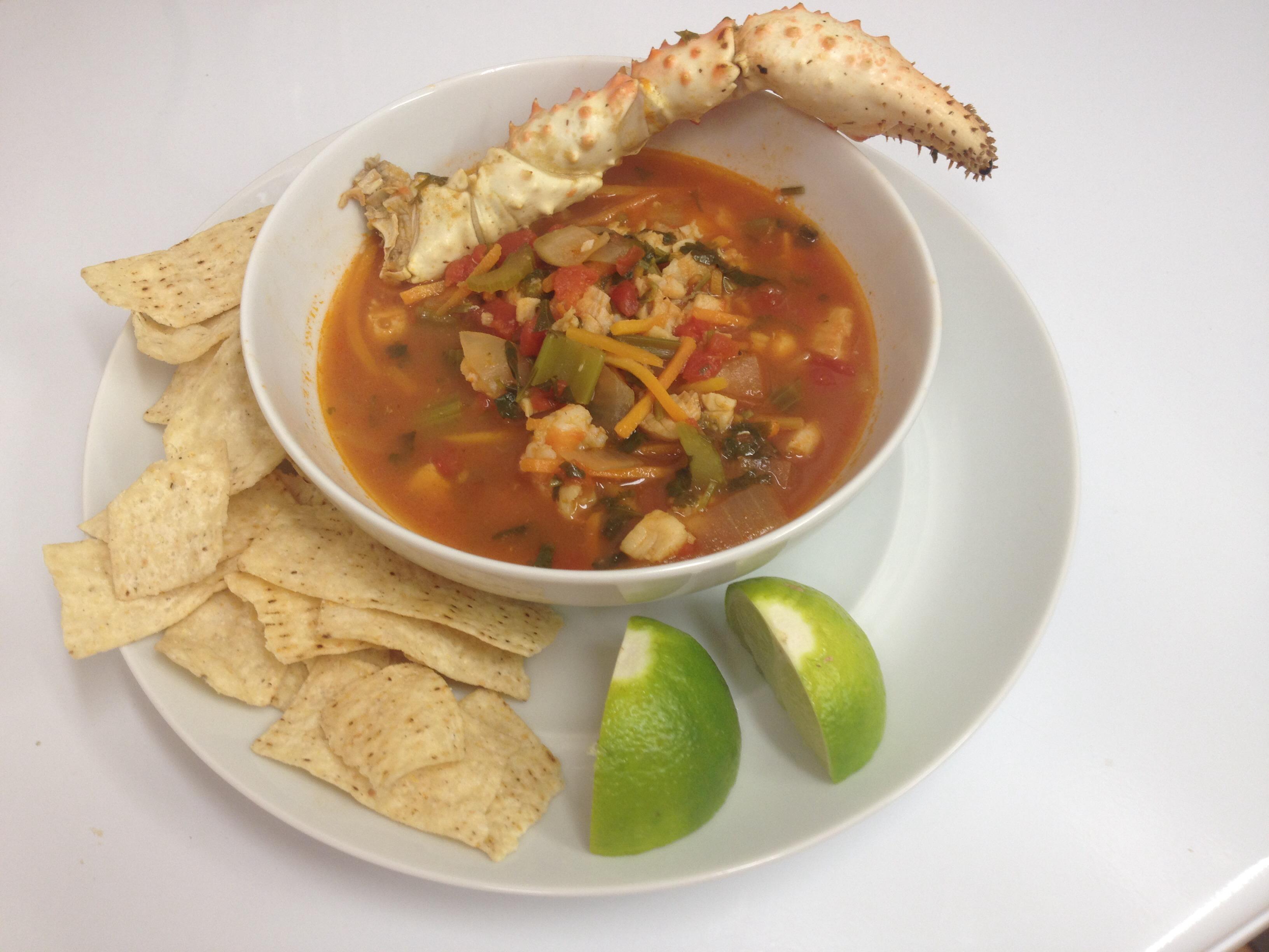 Caldo De Marisco (Seafood Soup)