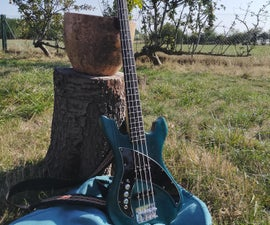 Build a Left-handed Bass / Guitar From a Right-handed Kit