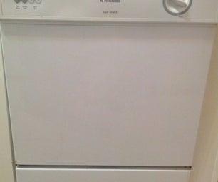 Using Sugru to Fix a Dishwasher