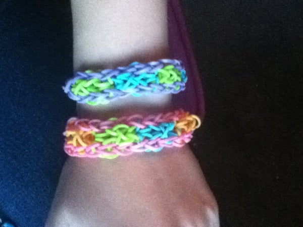 The Hexagon Rainbow Loom Bracelet
