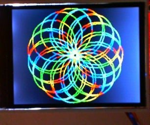 Spiro Rainbow Pattern Generator