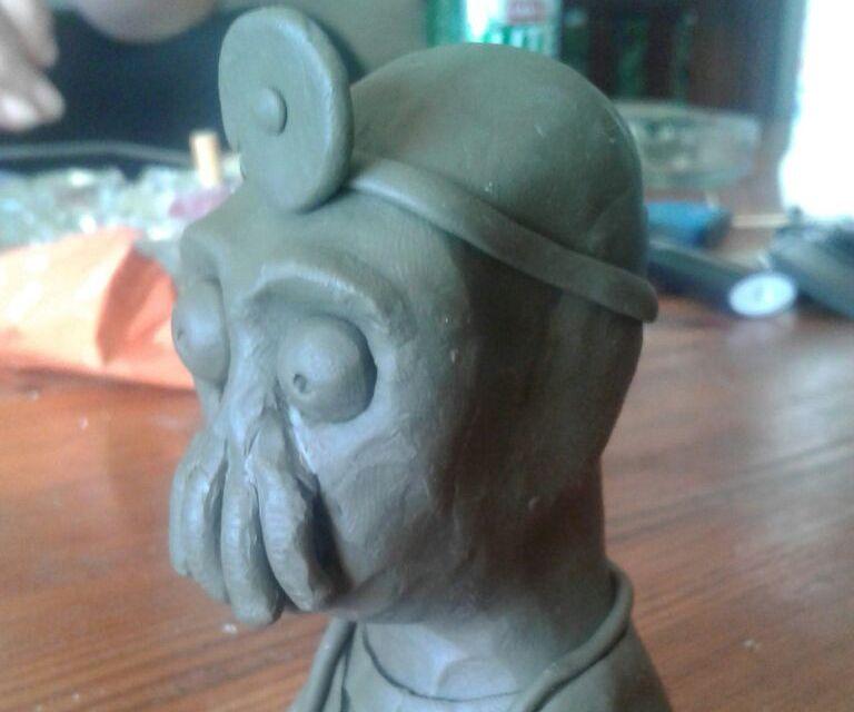 Zoidberg Bust/ Mask