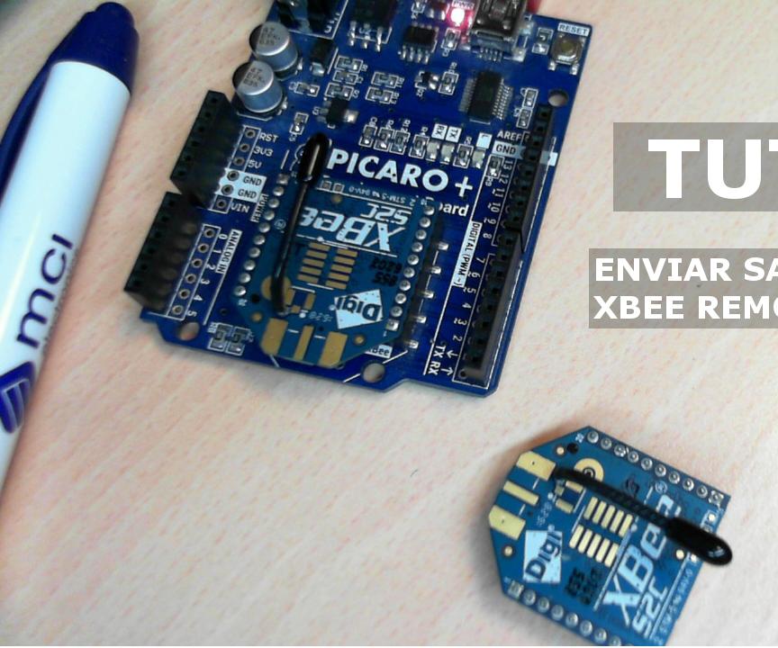 Enviar Salida Digital a XBee En Modo API (Send Digital Output to XBee in API Mode)