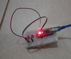 Control Built-in LED Using Push Button With Arduino Nano