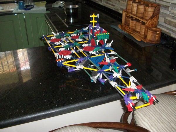K'nex Aircraft Carrier