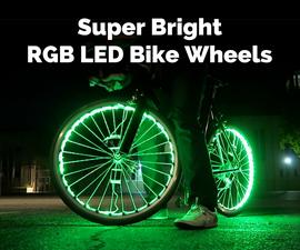 Super Bright RGB LED Bike Wheels