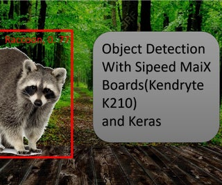 Object Detection With Sipeed MaiX Boards(Kendryte K210)