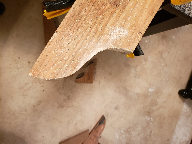 Swing Arbor Board Cutting
