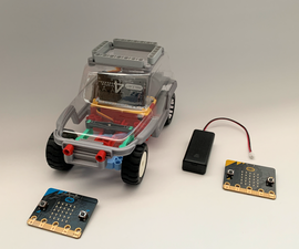 Start Up Guide 2021 for Valenta RC Car With Two (x2) Micro:bits (V1/V2)