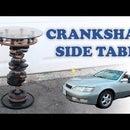 Car Crankshaft Side Table
