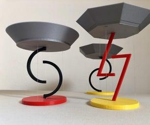 浮动碗 -  Tensegrity  -  3D印刷