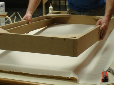 Add the Fiberglass Retaining Moulding