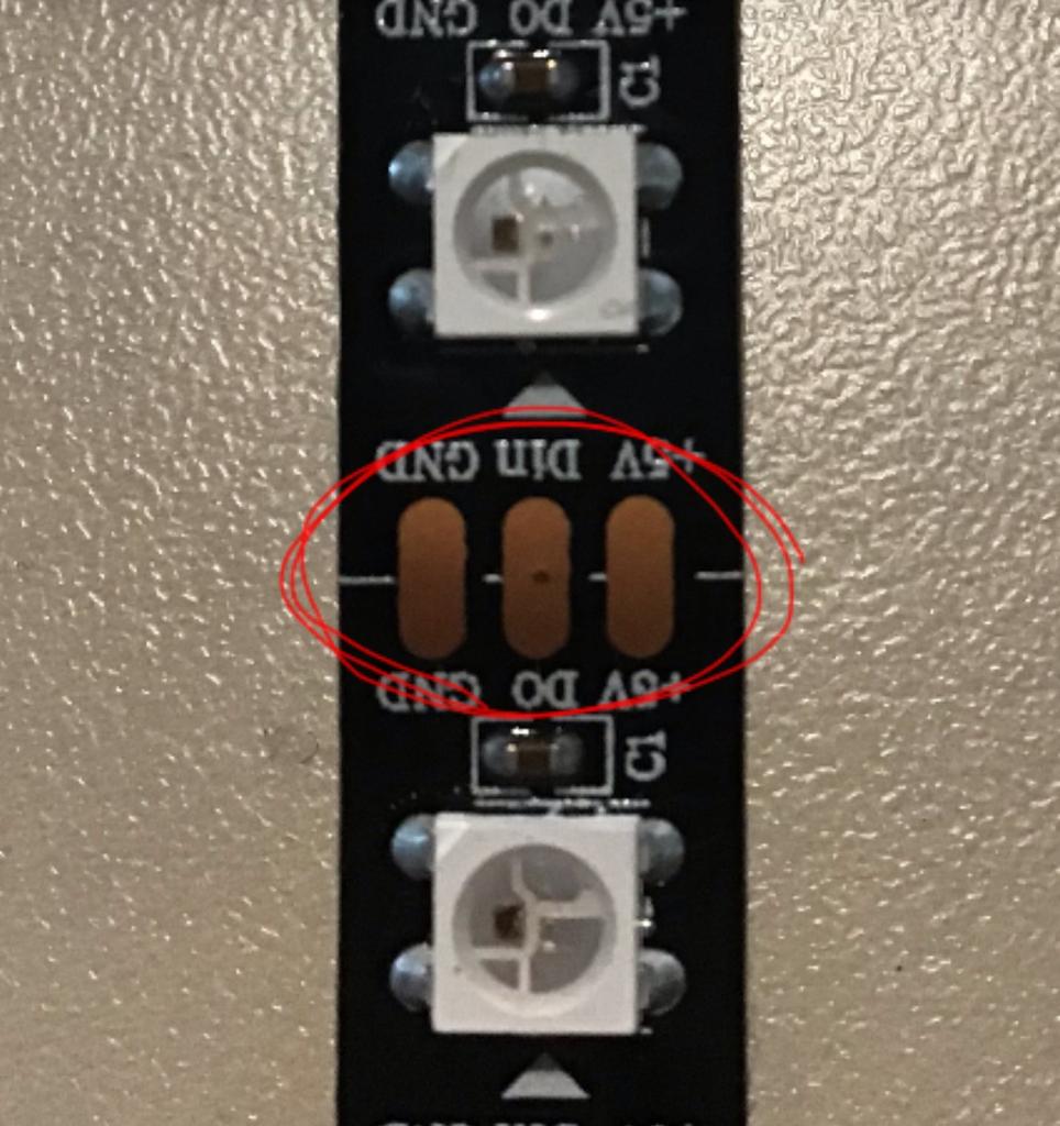 Solder the LED Strip