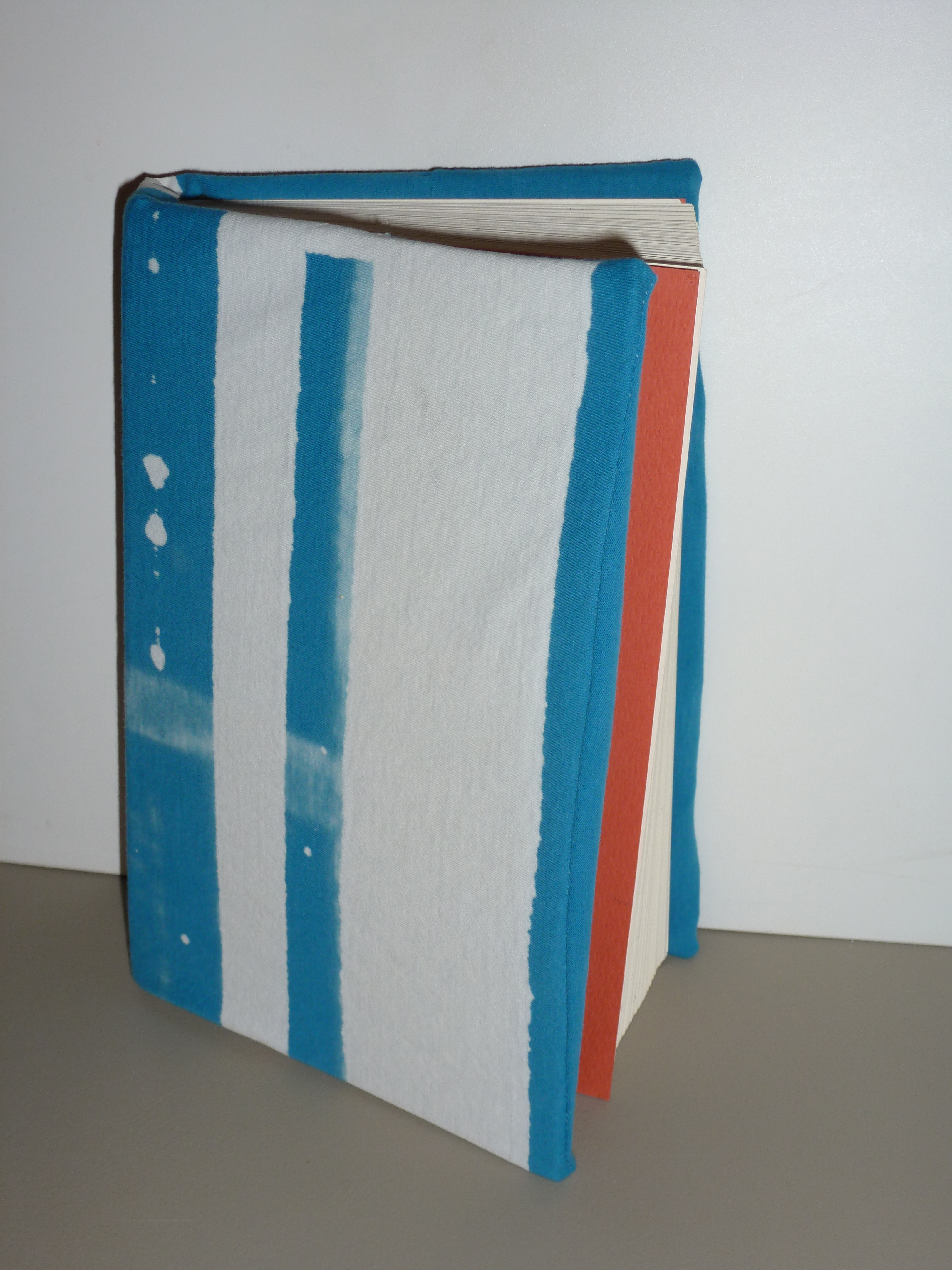 Make a Book Cover Out of an Unwanted T-shirt