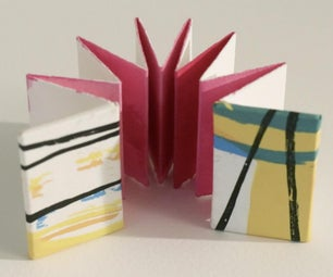 Make a Hard Cover for Your Tiny Accordion Book