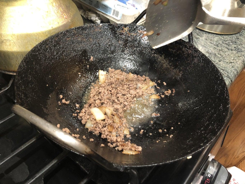 Sauté the Beef