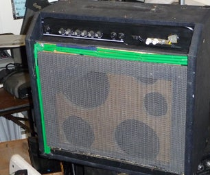 Frankenstein Guitar Amp Build