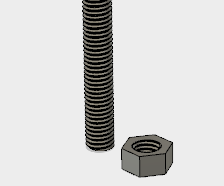 Threaded Rods and Nuts in Fusion360