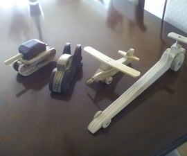 Wooden Toys During the Lockdown