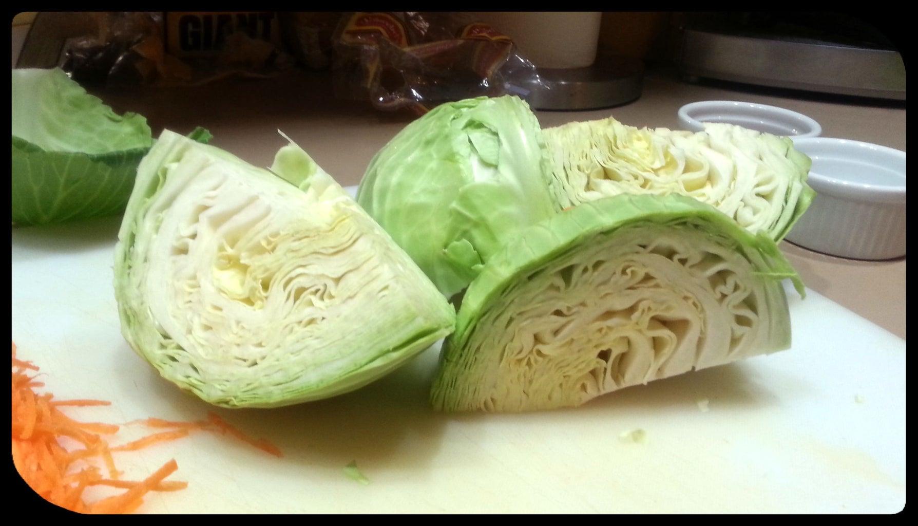 Prepare Cabbage