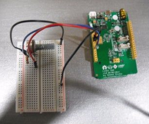 Linkit ONE: Voltage Meter
