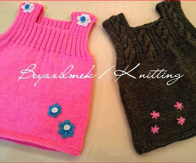 ✿ ✿   ♥ KNITTING BABY DRESS ♥  ✿✿