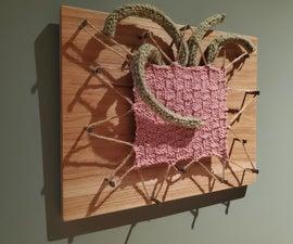 来自针织采样器的艺术