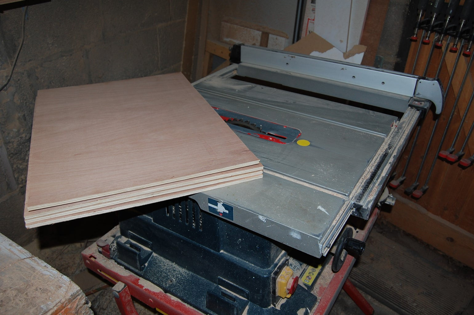 Cut Ply Into Strips & Paint/stain