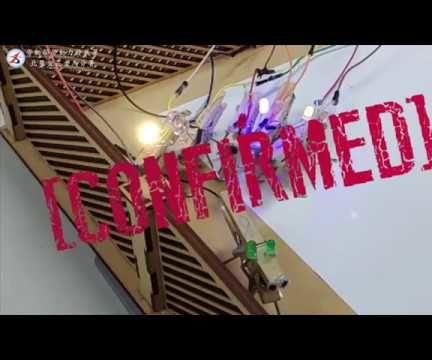 LED ROBOT  Simplest Robot