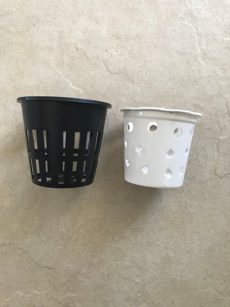 Gather Your Hydroponic Basket or Recycle the Keurig Coffee Pods