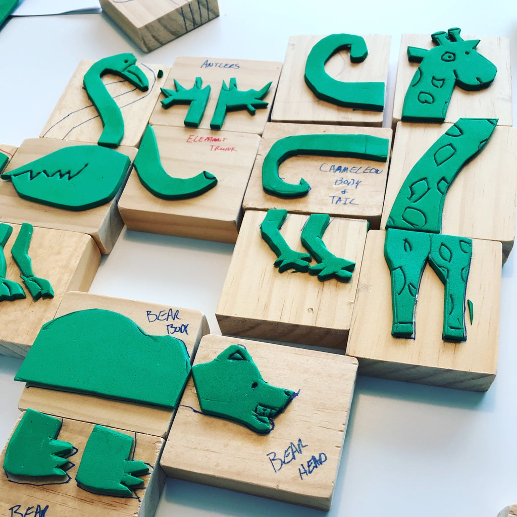 Plan Out and Create Stamps