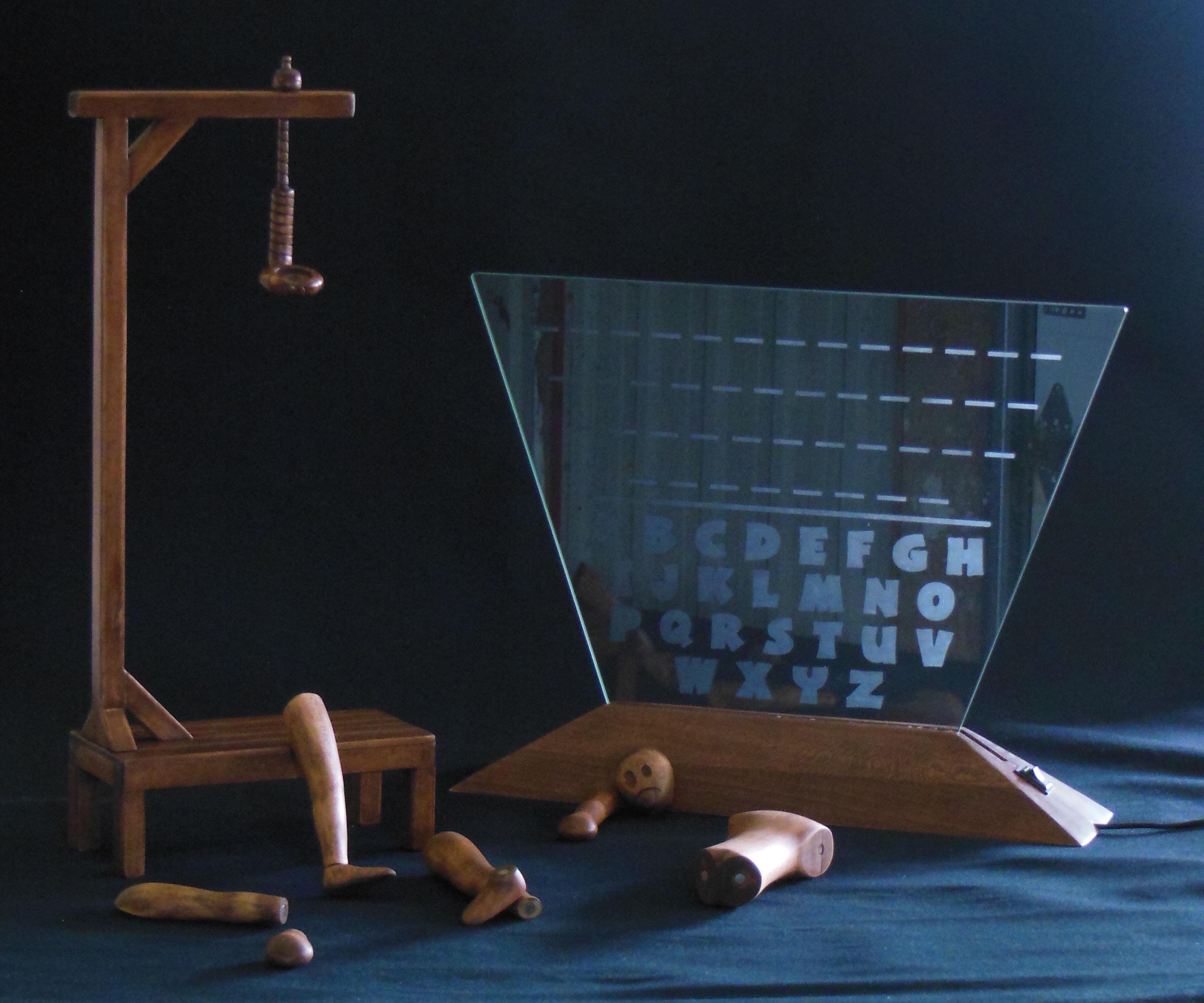 Hangman - 3D and interactive