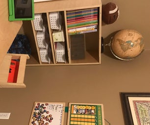 DIY Organization Bookshelf