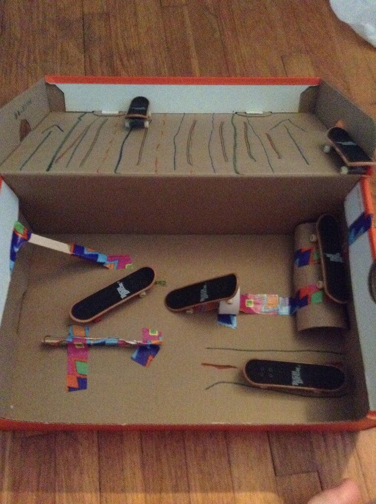 Fingerboard Skate Park Easy to Make