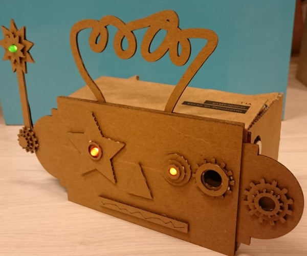 Ro-bo-di-na-tor (robot Style Dodocase, Google Cardboard)