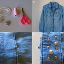 DIY - Pimp up your jeans shirt