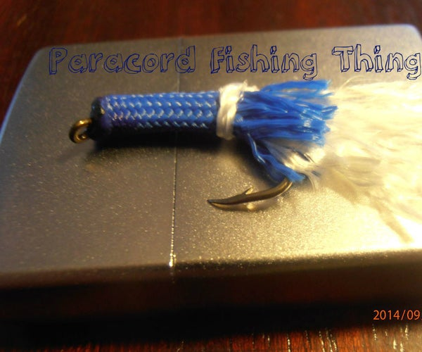 Paracord Fishing Fly/Lure/You Name It