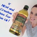 5 NEW and Creative Uses for Olive Oil!