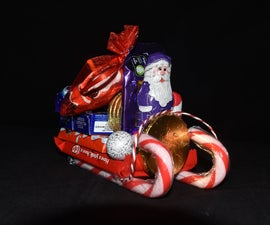 Santa's Sweet Treat Sleigh