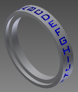 Rings: Step 3: Text