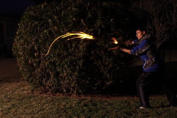 Special Effects Fireball Shooter