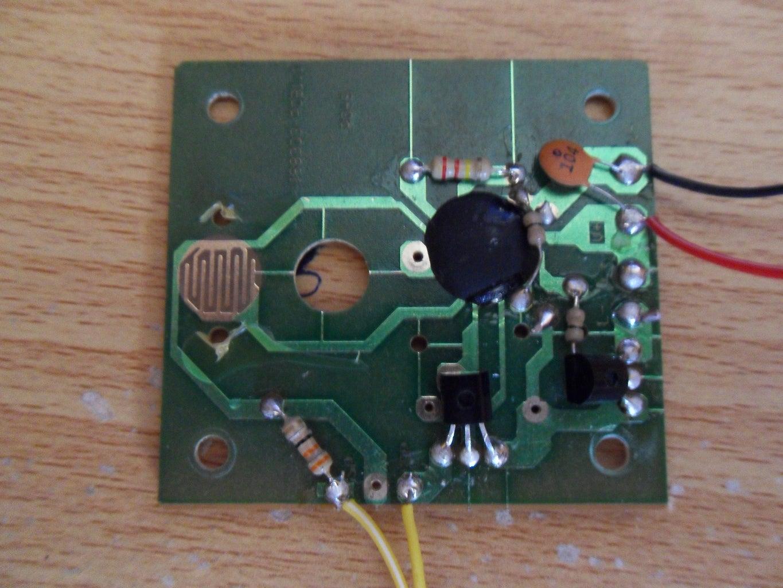 Installing the Tilt Switch
