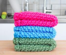 Easy Knit Dishcloth / Washcloth